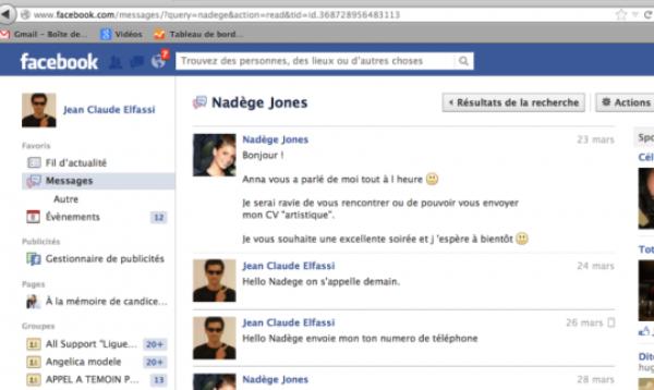 Jean-Claude Elfassi : Il publie une capture écran de sa première prise de contact avec Nadège, la gagnante de Secret Story 6
