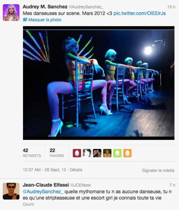 Secret Story 6 : Jean-Claude Elfassi clash Audrey Sanchez sur twitter