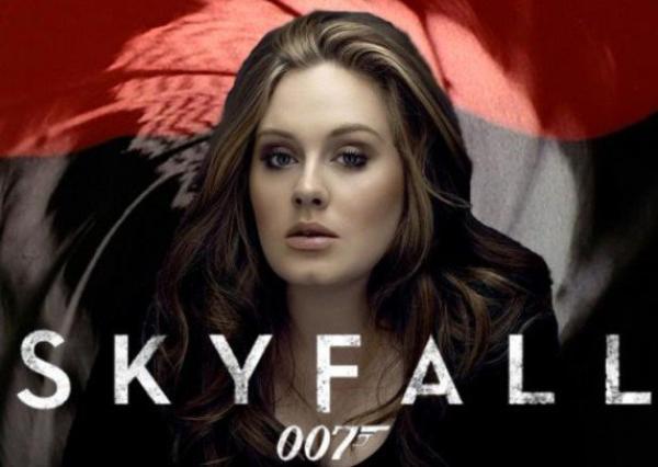 """( Audio) Adele : écoutez 1minute 30 de son titre inédit """"Skyfall"""", extrait de la B.O. de James Bond"""