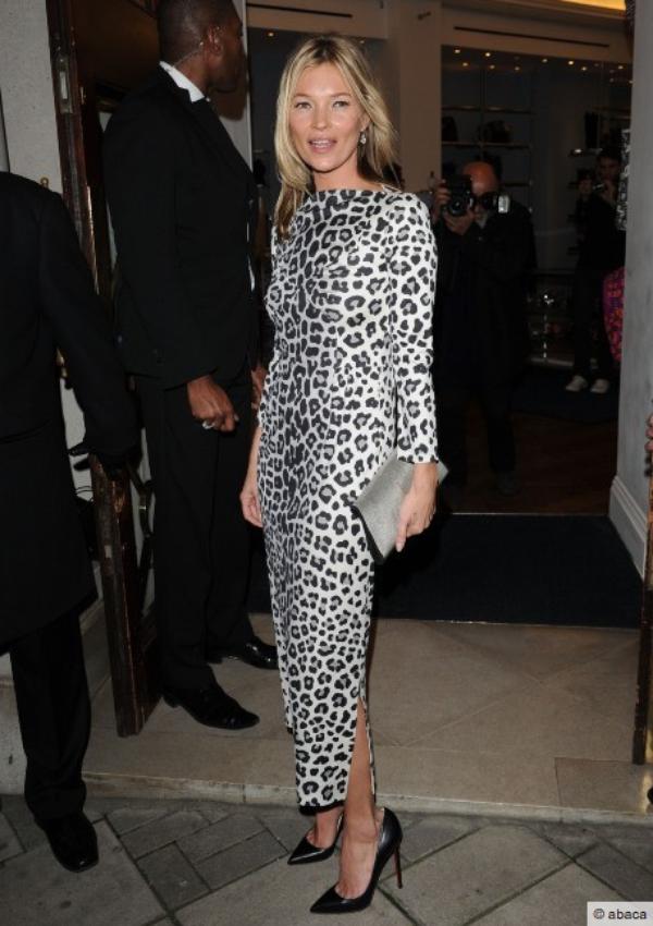 Kate Moss: Soirée arrosée pour la sortie de son livre...