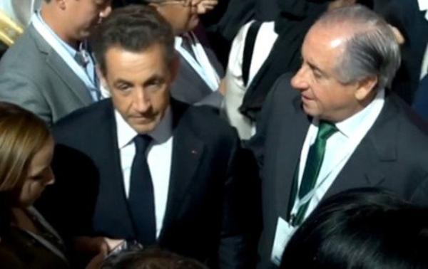 ( Vidéo) Nicolas Sarkozy et Cécilia Attias: Face aux caméras, l'ancien couple présidentielle s'ignore à Doha