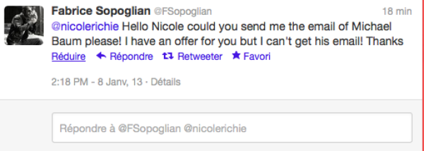 Les Anges de la téléréalité 5 :  Nicole Ritchie à été contactée par le producteur du show !