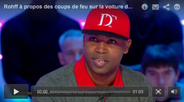 Rohff: Ultra maquillé, il réagit au sujet des coups de feu sur la voiture de La Fouine