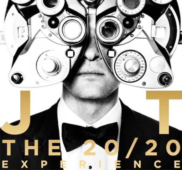 """Justin Timberlake: Découvrez le tracklisting et la pochette de son album """"The 20/20 Experience"""""""