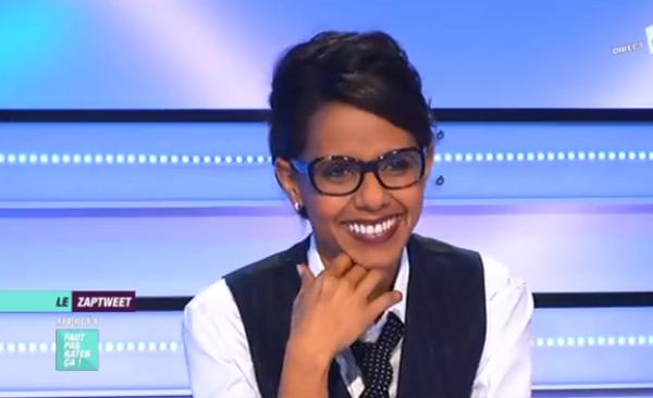 """Audrey Pulvar: Elle imite Nabila des Anges dans """"Faut pas rater ça !"""" sur France 4"""