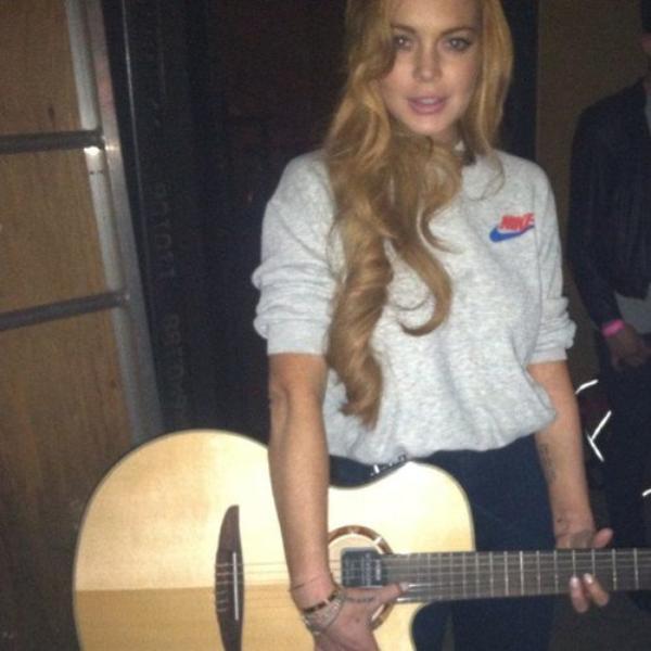 Lindsay Lohan: L'annonce de sa grossesse était un...Poisson d'avril