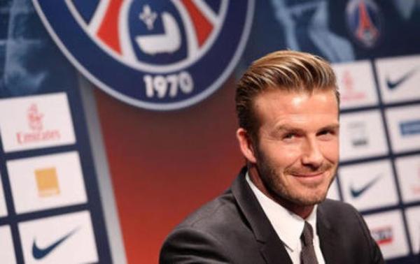 David Beckham: Son salaire au PSG ira en partie à un hôpital parisien