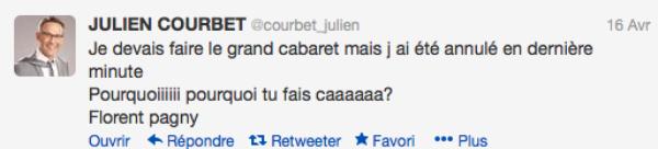 """Julien Courbet: Invité au """"Plus grand cabaret"""" de Patrick Sébastien, il est annulé à la dernière minute"""