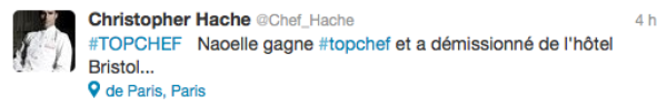 Top Chef 2013 : Découvrez une semaine avant la finale qui est le grand gagnant de cette saison