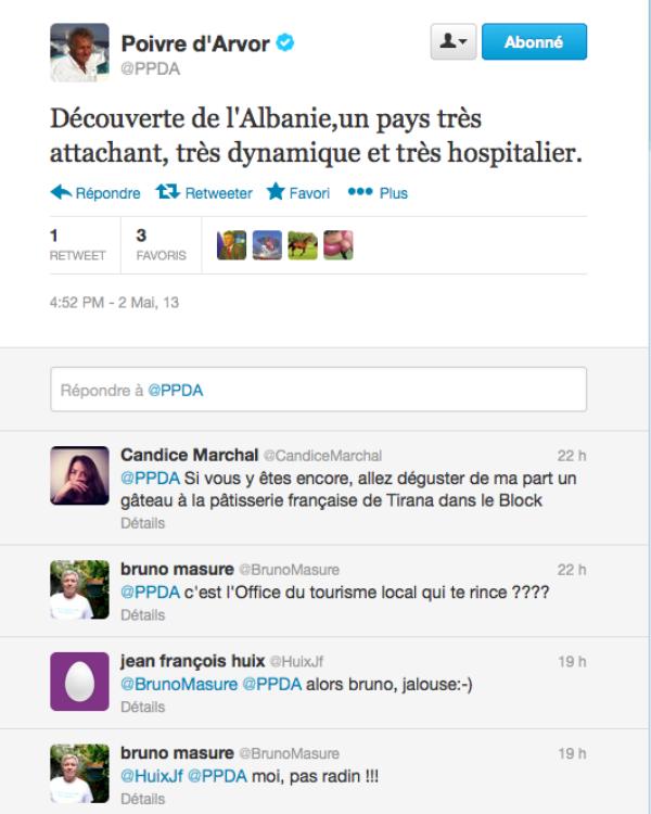 Bruno Masure: Il clash PPDA sur Twitter