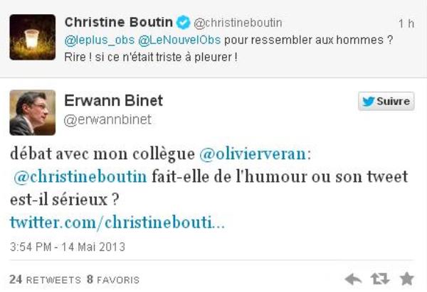 Christine Boutin: Elle ironise sur l'ablation des seins d'Angelina Jolie