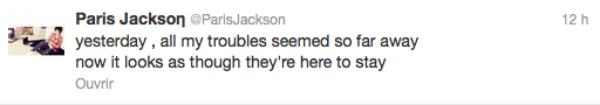 Michael Jackson: Sa fille Paris hospitalisée d'urgence à Los Angeles après une tentative de suicide