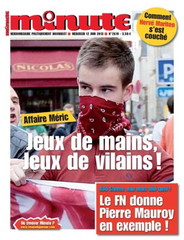 Minute: Sa Une choc sur Clément Merci, scandalise le web !