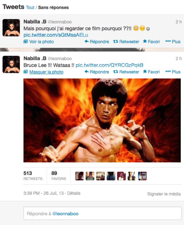 Nabilla: Elle réagit sur twitter suite à la publication de la vidéo ou elle se bagarre dans la rue