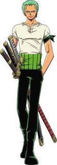 Roronoa Zoro: je serais le plus grand manieur de sabres du monde !!!