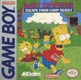 Bart Simpson's Escape from Camp Deadly - Acclaim