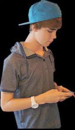 justin Bieber un sossie en Belgique ( Christopher Bieber )