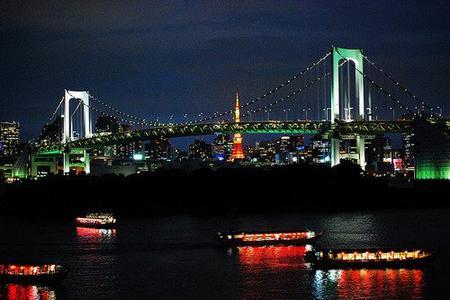 Tokyo 5 : palais impérial, rainbow bridge et Tour de Tokyo