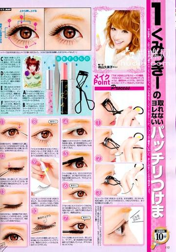Japon 15 : Mode 5 : Nail art et Make-up