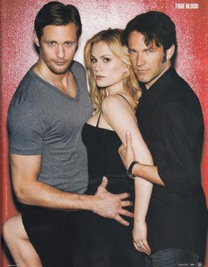 0 Stephen et le cast de True Blood figurant dans le magazine SFX de Janvier 2012 ! ENJOY 0
