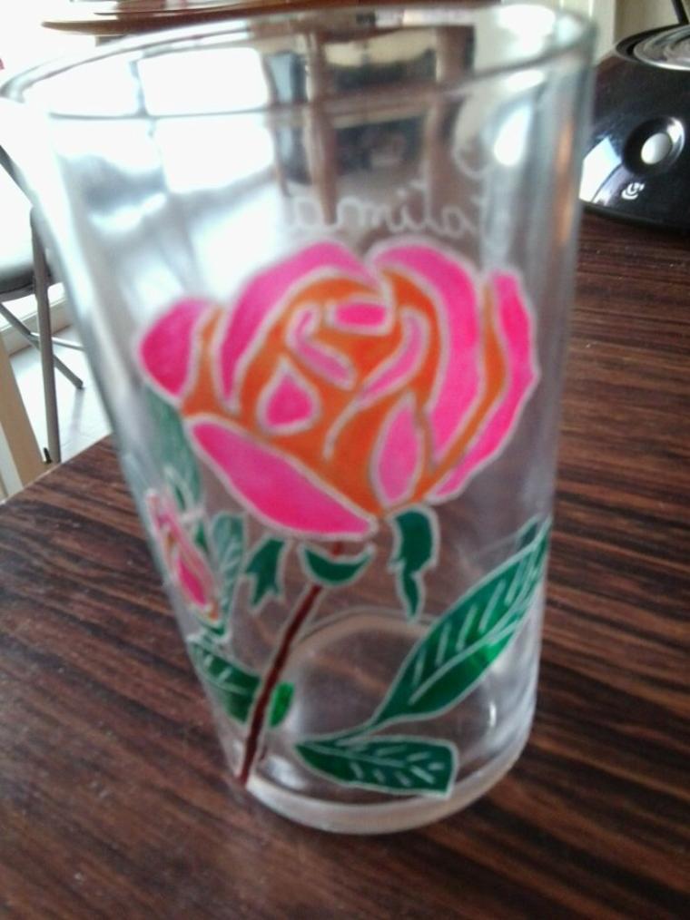 verre rose!