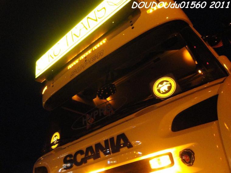 Scania R500 V8 RC Trans - Handicaminotrucks Montélimar 2011