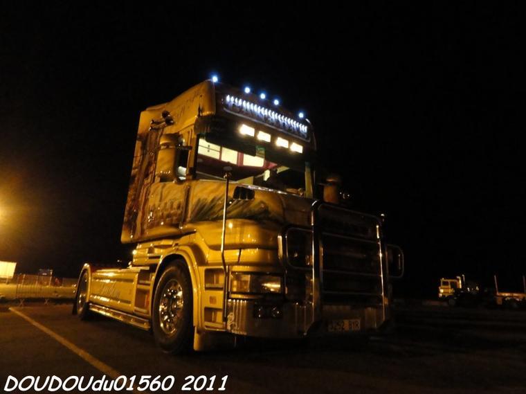Scania T164L 580 V8 Transports J.M.Cañadas - Handicaminotrucks Montélimar 2011