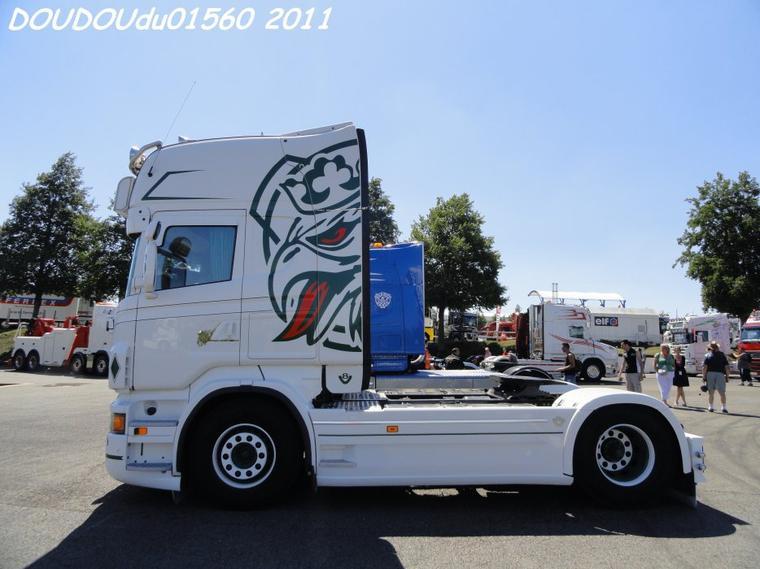 Scania R560 V8 Sylvain Bouzigon - Magny Cours 2011