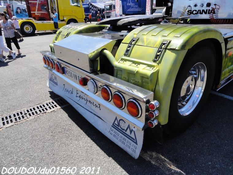Scania T 164L 480 V8 Chambonnière - Magny Cours 2011