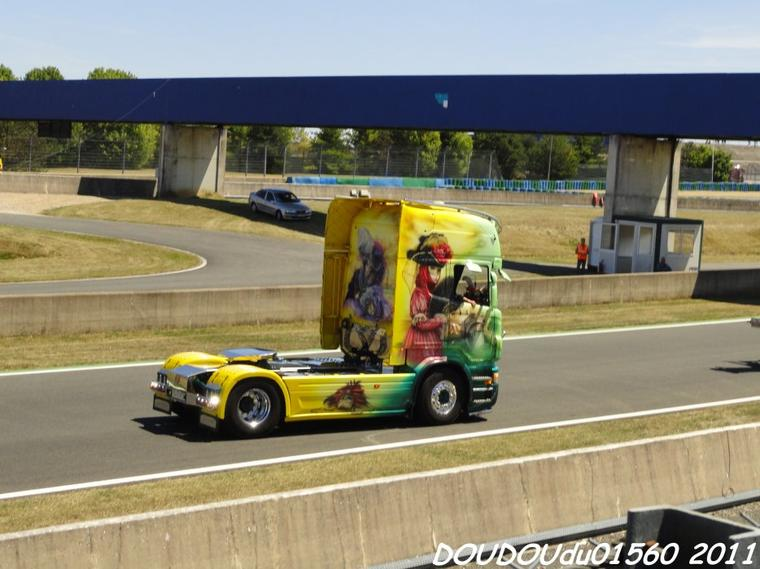 Scania R480 Trans CMG - Magny Cours 2011
