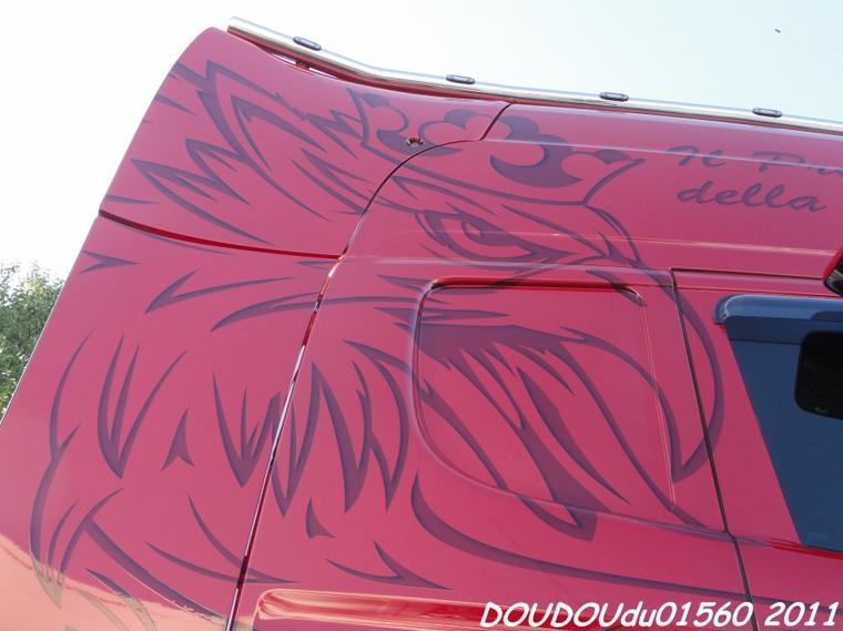 Scania R620 V8 JLS Traction - Magny Cours 2011