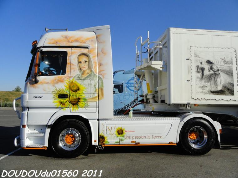 Mercedes Actros 1846 Broquerault - Magny Cours 2011