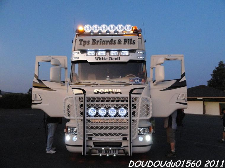 Scania R500 V8 Tps Briards - Magny Cours 2011