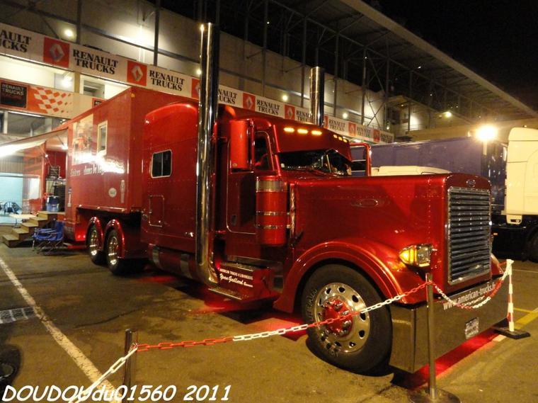 Camions Américains - 24h du Mans Camions 2011
