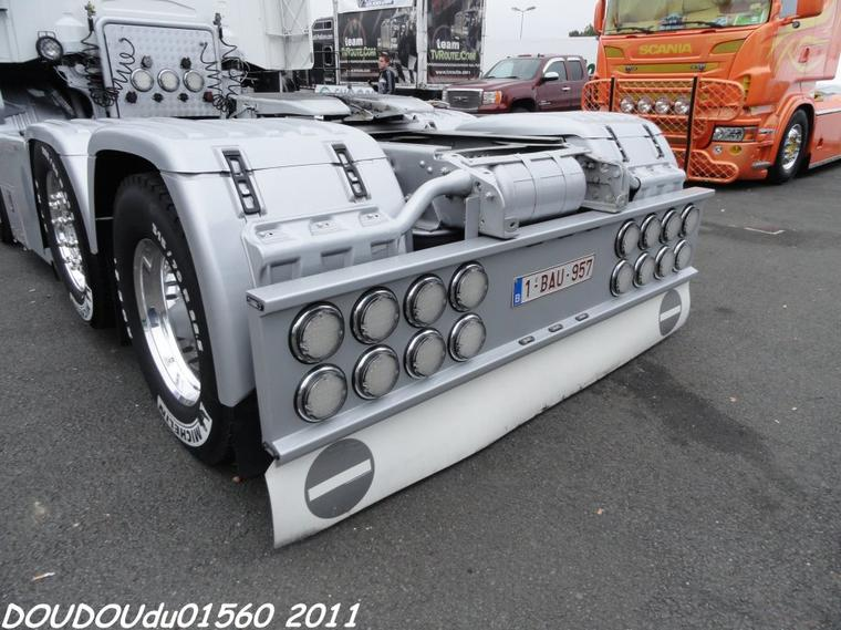 Scania R500 V8 VEM - 24h du Mans Camions 2011