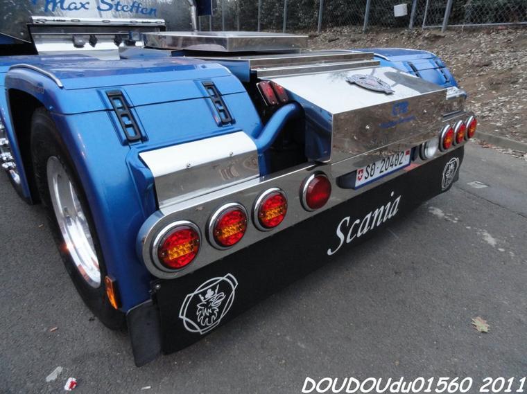 Scania R500 V8 Longline CTB Container Transports - 24h du Mans 2011
