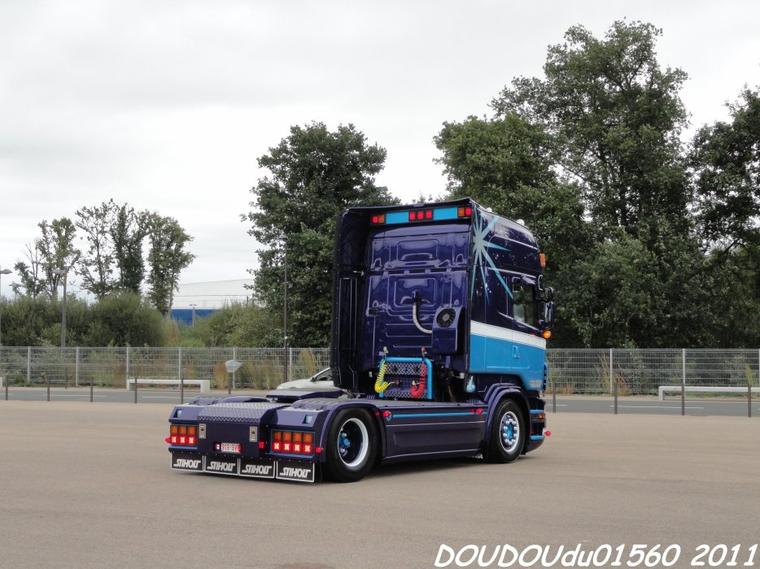 Scania R620 V8 Axel Dubois - 24h du Mans 2011