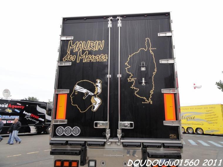 Scania Torpedo Longline Maurin des Maures - 24h du Mans 2011