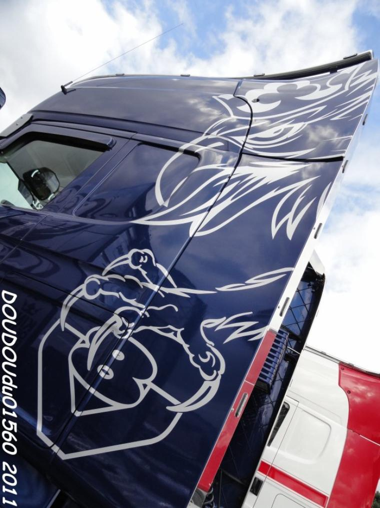 Scania R560 V8 Nicolas Fages - 24h du Mans 2011