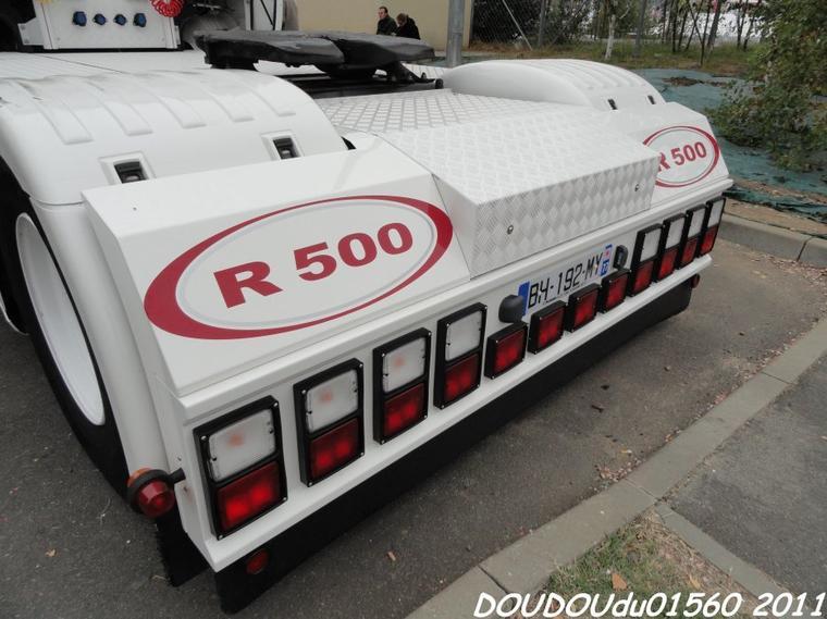 Scania R500 V8 J.O. Trans  - 24h du Mans 2011