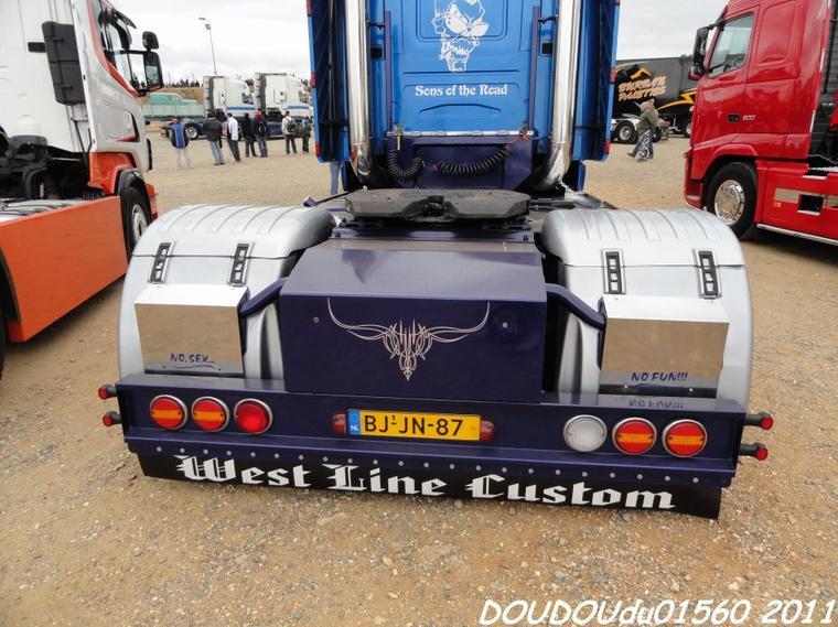 Scania T Gillard Julien - 24h du Mans 2011