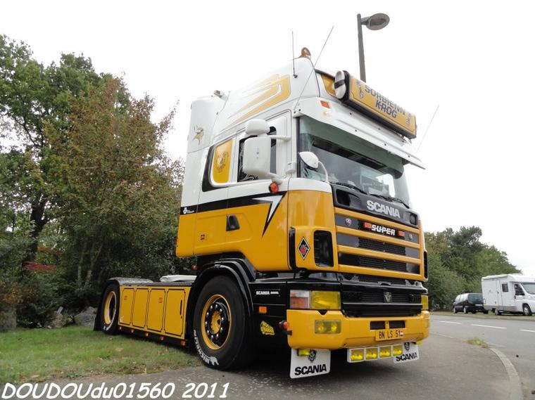 Scania 164L 540 V8 - 24H du Mans 2011