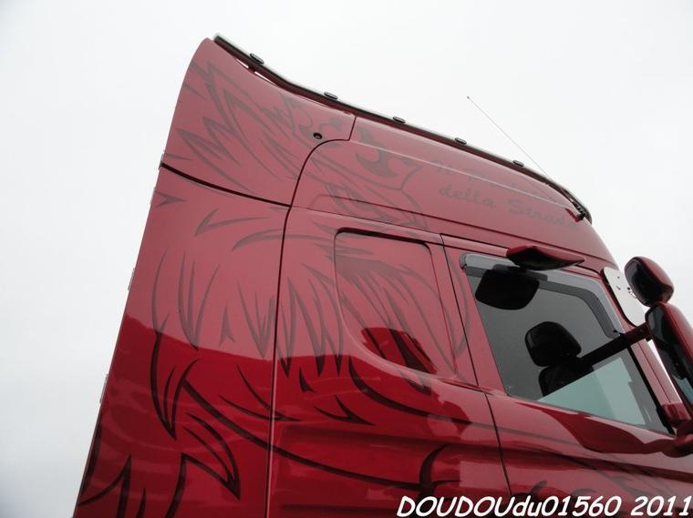 Scania R620 V8 JLS Traction - 24h du Mans 2011