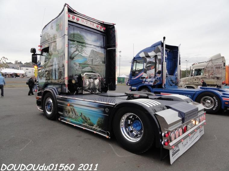 Scania R620 V8 STM - 24h du Mans 2011