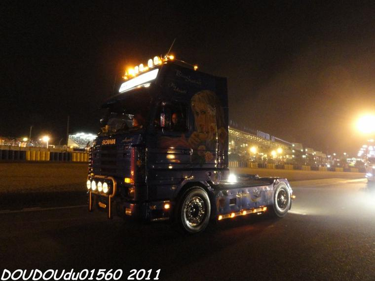 Scania 143 500 V8 CTB Container Transports - 24h du Mans 2011