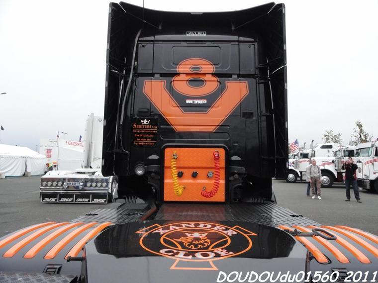 Scania R500 V8 Xantrans - 24H du Mans 2011