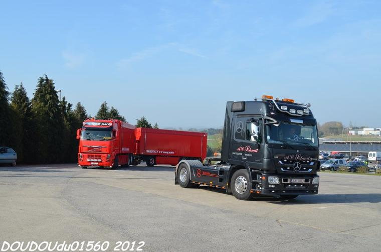Truckshow Ciney 2012