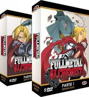 Goodie Full Metal Alchemist - DVD + Manga