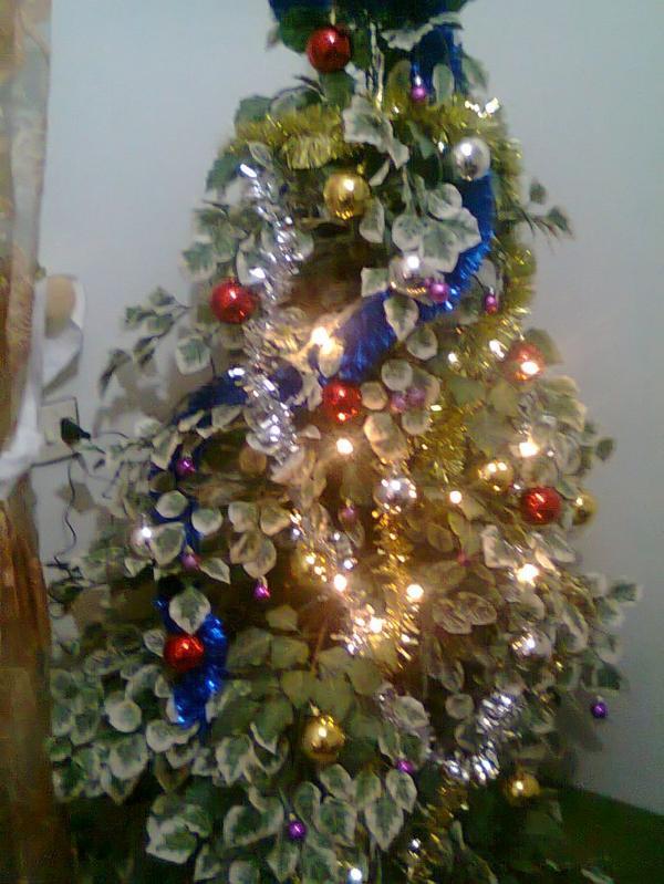 mon arbre NOEL deja fait