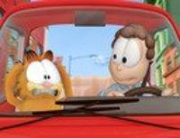 garfield en voiture